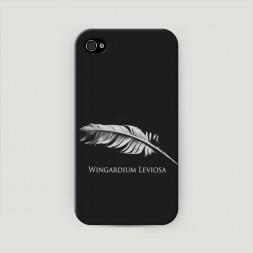 Пластиковый чехол Wingardium Leviosa на iPhone 4/4S