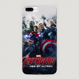 Пластиковый чехол Мстители на iPhone 7 Plus