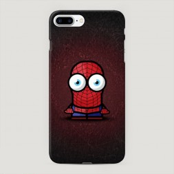 Пластиковый чехол Мини человек паук на iPhone 7 Plus