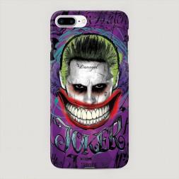 Пластиковый чехол Улыбка Джокера на iPhone 7 Plus