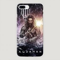 Пластиковый чехол Аквамэн на iPhone 7 Plus