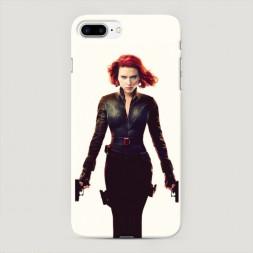 Пластиковый чехол Черная вдова на iPhone 7 Plus