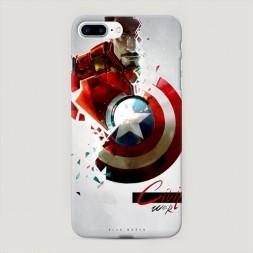 Пластиковый чехол Гражданская война на iPhone 7 Plus
