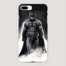 Пластиковый чехол Бэтмен в дыму на iPhone 7 Plus