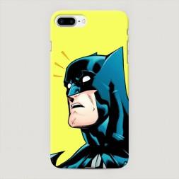 Пластиковый чехол Бэтмен удивлен на iPhone 7 Plus