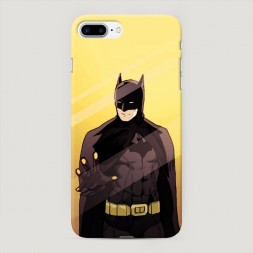Пластиковый чехол Бэтмен за стеклом 2 на iPhone 7 Plus