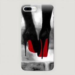 Пластиковый чехол Рисунок лабутенов на iPhone 7 Plus