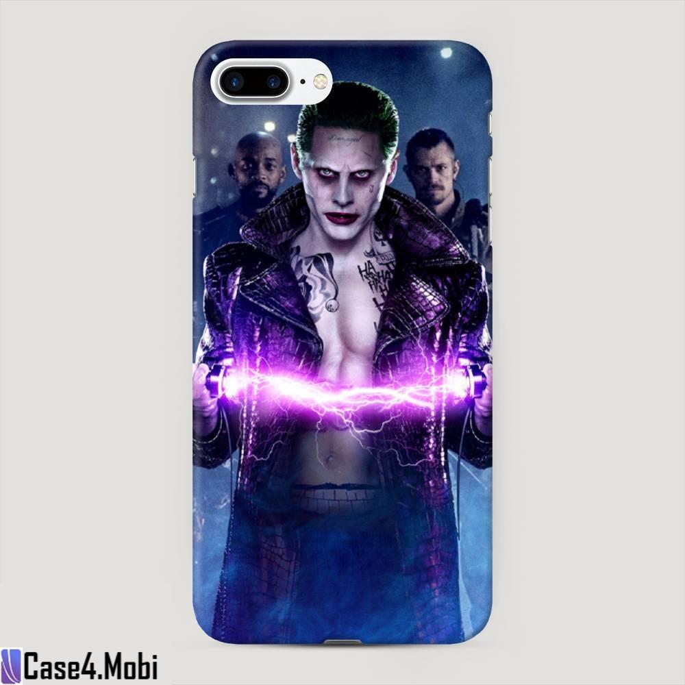 Пластиковый чехол Джокер разряд на iPhone 7 Plus