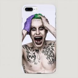 Пластиковый чехол Псих Джокер на iPhone 7 Plus