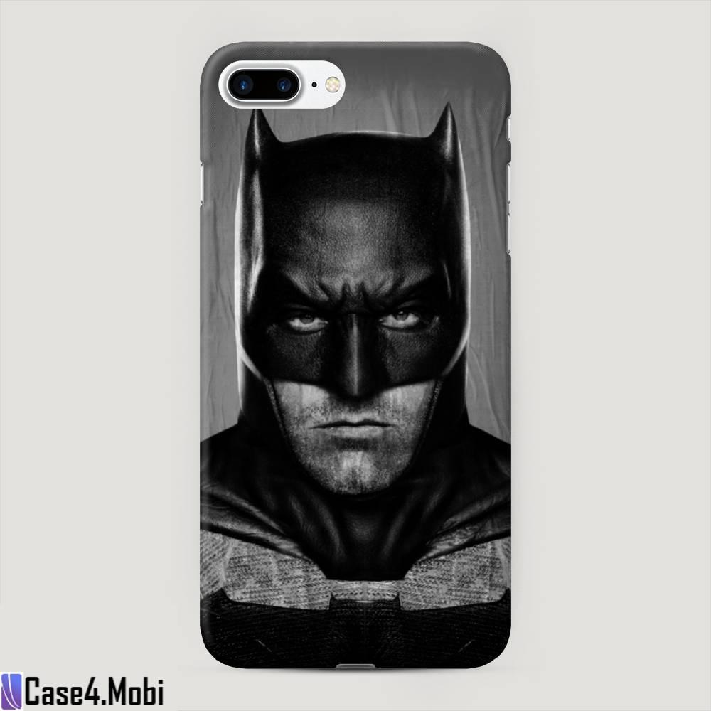 Пластиковый чехол Сердитый бэтмен на iPhone 7 Plus