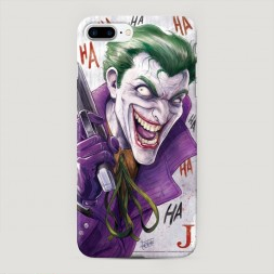 Пластиковый чехол Рисованный Джокер на iPhone 7 Plus