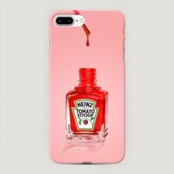 Пластиковый чехол Лак heinz на iPhone 7 Plus