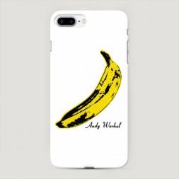Пластиковый чехол Банан Warhol на iPhone 7 Plus