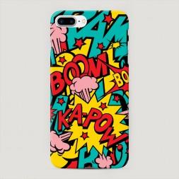 Пластиковый чехол Постер pop art на iPhone 7 Plus
