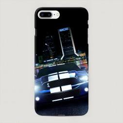 Пластиковый чехол Мустанг гонка на iPhone 7 Plus
