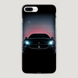 Пластиковый чехол Мазератти в гараже на iPhone 7 Plus