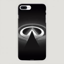 Пластиковый чехол Инфинити значок на iPhone 7 Plus