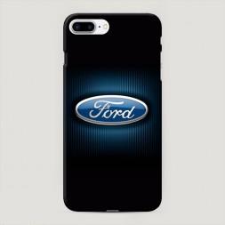 Пластиковый чехол Форд значок на iPhone 7 Plus