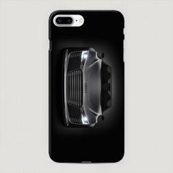 Пластиковый чехол Ауди серый на iPhone 7 Plus