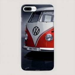 Пластиковый чехол Фольксваген хиппи на iPhone 7 Plus