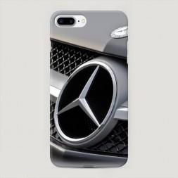 Пластиковый чехол Мерседес радитор на iPhone 7 Plus