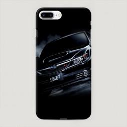 Пластиковый чехол Субару СТР на iPhone 7 Plus