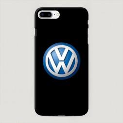 Пластиковый чехол Фольксваген синий на iPhone 7 Plus