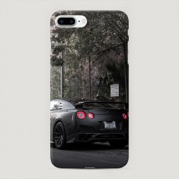 Пластиковый чехол Ниссан ДжиТиАр на iPhone 7 Plus