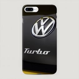 Пластиковый чехол Фольксваген турбо на iPhone 7 Plus