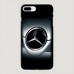 Пластиковый чехол Мерседес тени на iPhone 7 Plus