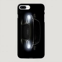 Пластиковый чехол Ауди фары на iPhone 7 Plus