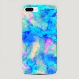 Пластиковый чехол Акварельный фон на iPhone 7 Plus