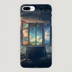 Пластиковый чехол Окно в мир на iPhone 7 Plus
