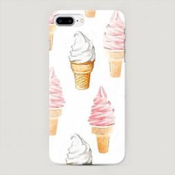 Пластиковый чехол Нарисованное мороженое на iPhone 7 Plus