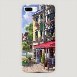 Пластиковый чехол Старая улица на iPhone 7 Plus