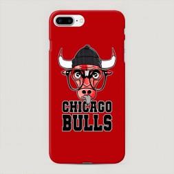 Пластиковый чехол Чикаго Буллс на iPhone 7 Plus