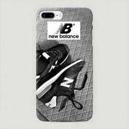 Пластиковый чехол New Balance кроссовки на iPhone 7 Plus