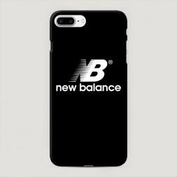 Пластиковый чехол NB на черном фоне на iPhone 7 Plus