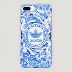 Пластиковый чехол Адидас спорт на iPhone 7 Plus