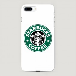 Пластиковый чехол Starbucks coffee на iPhone 7 Plus