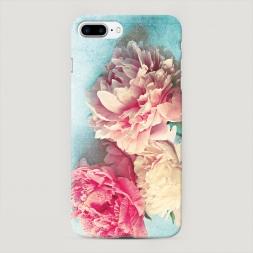 Пластиковый чехол Пионы new на iPhone 7 Plus