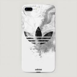 Пластиковый чехол Адидас дым на iPhone 7 Plus