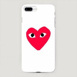 Пластиковый чехол Supreme одинокое сердечко на iPhone 7 Plus
