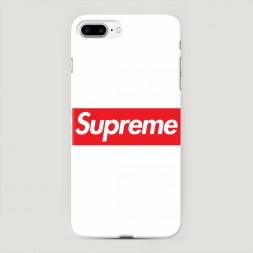 Пластиковый чехол Supreme классика на iPhone 7 Plus