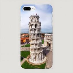 Пластиковый чехол Пизанская башня на iPhone 7 Plus