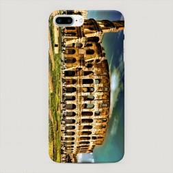Пластиковый чехол Колизей на iPhone 7 Plus