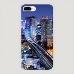 Пластиковый чехол Город не спит на iPhone 7 Plus