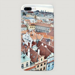 Пластиковый чехол Прага на iPhone 7 Plus