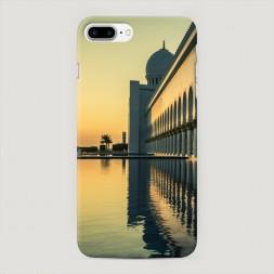 Пластиковый чехол Мечеть Абу Даби на iPhone 7 Plus