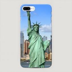 Пластиковый чехол Статуя Свободы на iPhone 7 Plus